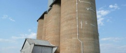 (ps222)TICHBORNE SILOS,BETWEEN PARKES & FORBES